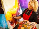 Corso di pittura su stoffa